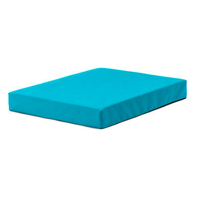 Turquoise Delta 60 x 80cm Outdoor Gym Crash Mat Soft Play Padded Waterproof