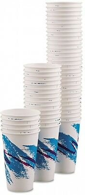 SOLO Cup Company Jazz 16 Oz. Polycoated Paper Hot Cups, 1000 Count