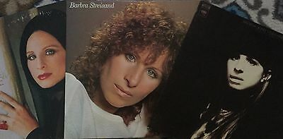 Lot of 3: BARBRA STREISAND LPs * Way We Were, Memories, Barbra Joan Streisand
