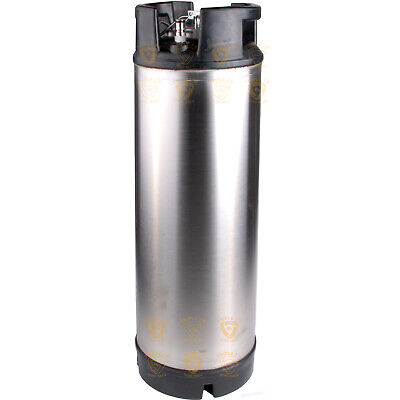 PREMIUM BRAND NEW 304SS 19L BALL LOCK KEG home brew   FP