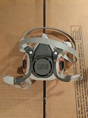 New 3M HALF FACEPIECE MASK SMALL REUSABLE RESPIRATOR 6100/07024 FREE SHIPPING