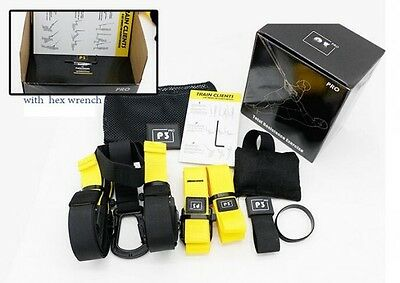 Yoga Bodyweight Training Rope Crossfit Suspension Fitness Trainer Gym Straps