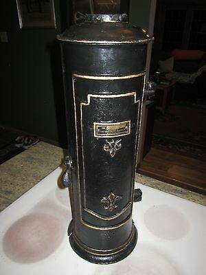 antique Hotstream hot water heater cast iron copper coil steampunk moonshine