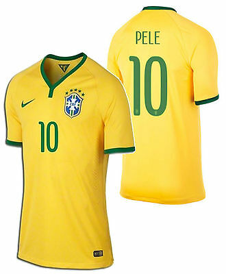 254e2de3948 ... neymar jr pele p. nike pele brazil authentic home match jersey fifa  world cup brasil 2014.