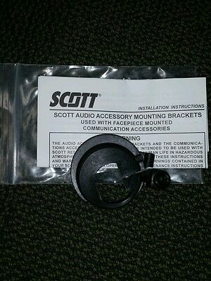 *NEW* Scott AV3000 mask Voice Amp Amplifier mounting bracket ring SCBA 805787-01