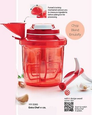 New Tupperware Extra Chef (1) 1.35L hand blender