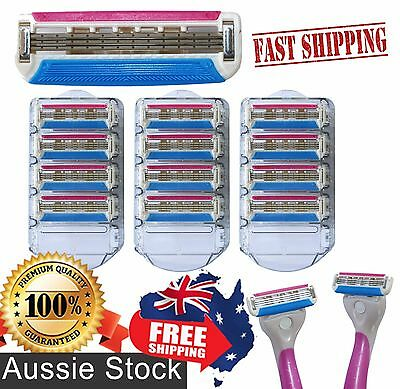 Schick Quattro ® 3 Blade Compatible Replacement Razor Quality Refill Cartridges