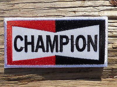 A103 ECUSSON PATCH THERMOCOLLANT aufnaher toppa CHAMPION motorcycle motorrad