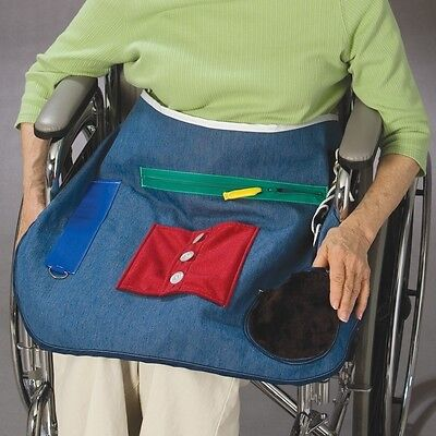 Posey 7400 Multicolored Activity Apron Tactile Therapy