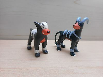 Pokemon Tomy Houndour Houndoom Figure Monster Collection Set Rare Original