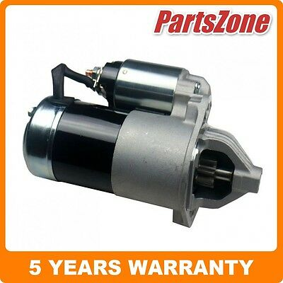 New Starter Motor Fit for Mitsubishi Pajero NF NG NH NJ NK NL NM NP NS V6 Manual