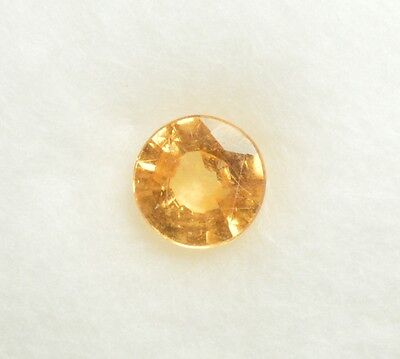 Grenat Spessartite naturel - 0,85 ct - Natural Garnet - HKD Certified