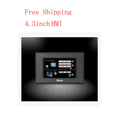 """Kinco 4.3"""" inch HMI touch screen Ethernet with program Cable&Software MT4220TE"""