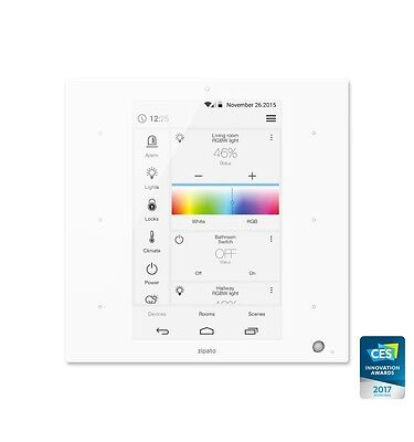 ZIPATO - ZIPATILE All in One Home Automation Controller(Z-Wave, Zigbee...) White