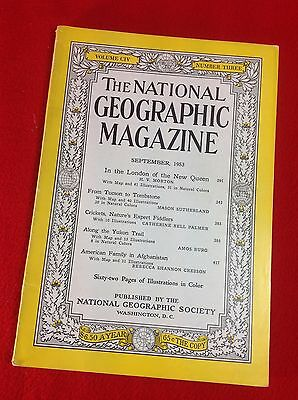 National Geographic Magazine : Sept 1953 : In the London of the New Queen