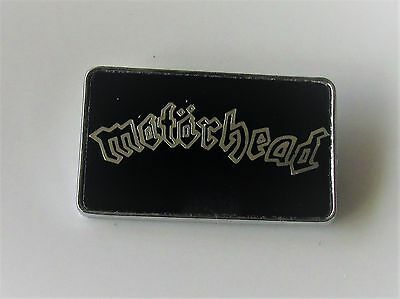 MOTORHEAD VINTAGE METAL PIN BADGE FROM THE 1980's LEMMY OVERKILL BOMBER CLUBMAN