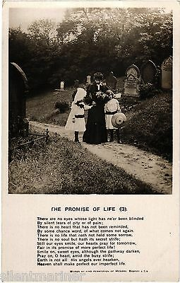 The Promise of Life (3), Bamforth RP song postcard, unposted