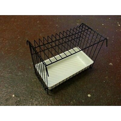 Double Canary Bird Bath for Cage or Aviary