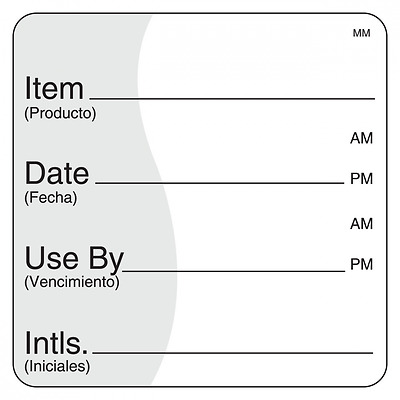 """DayMark IT112475 MoveMark Use by Removable Label, 2"""" x 2"""" (Roll of 500)"""