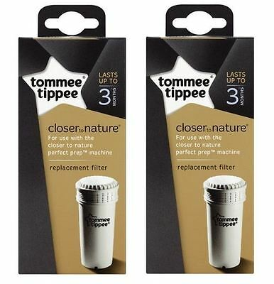 Tommee Tippee Perfect Prep Baby Bottle Machine Replacement Filters (Pack of 2)
