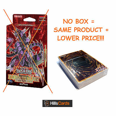 Yu-Gi-Oh Cards: - NO BOX - Dinosmasher's Fury Structure Deck SR04 - Dinosaurs