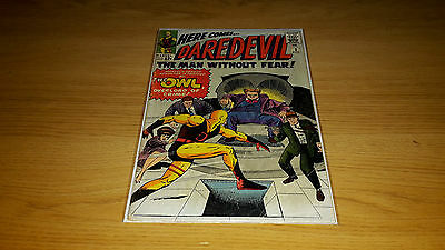 Daredevil #3 - Marvel Comics - April 1964 - 1st Print - 1st The Owl