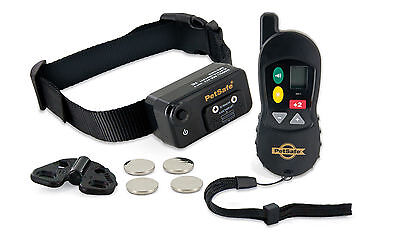 PETSAFE 100m BIG DOG TRAINER - STATIC SHOCK TRAINING E-COLLAR ELECTRIC REMOTE