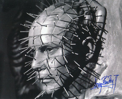 Doug Bradley SIGNED photo - Pinhead - Hellraiser - GM62