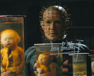Doug Bradley SIGNED photo - Pinhead - Hellraiser - GM63
