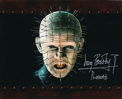 Doug Bradley SIGNED photo - Pinhead - Hellraiser - GM65