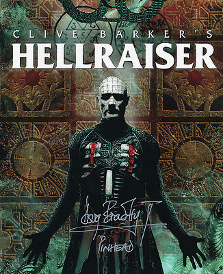 Doug Bradley SIGNED photo - Pinhead - Hellraiser - GM69