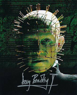 Doug Bradley SIGNED photo - Pinhead - Hellraiser - GM77