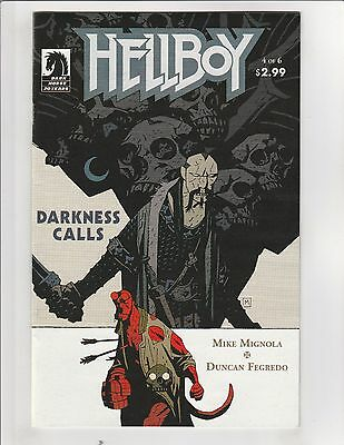 Hellboy: Darkness Calls #4 VF/NM 9.0 Dark Horse Comics