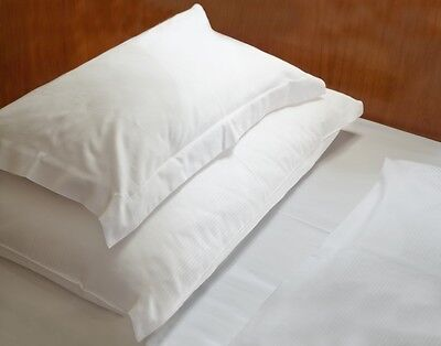 Wholesale Joblot 5/10 Double Fitted Sheet White Egyptian Cotton Hotel Quality