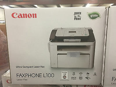 "Canon Faxphone L100 Fax Machine & Multifunction Laser Printer 8.5 x 11"" 5258B001"