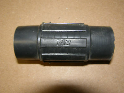 """LOT OF 10   PVC COATED 1 1//4/"""" COUPLINGS  ROBROY OCAL PERMACOTE"""