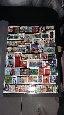 60 TIMBRES Allemagne (lot M1)