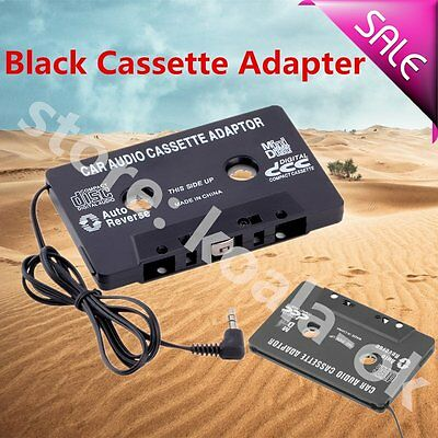 Audio AUX Car Cassette Tape Adapter Converter 3.5 MM for iPhone iPod MP3 CD XP