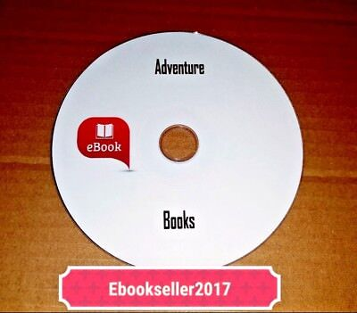 ebooks Adventure 1200+ Classic in Kindle,iPad,and PDF Format Mixed Media on Disc