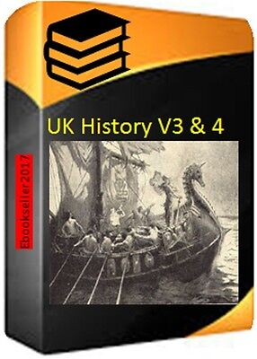 UK History 194 Ebooks thousands of pages on 2 discs PDF Format for PC V3 & V4