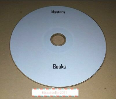 ebooks, Mystery in english 600 + mixed Authors in kindle & epub formats on Disc