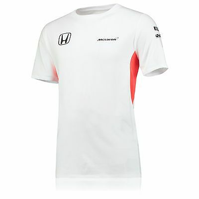 McLaren Honda F1 Men's Official Team Set up T-Shirt - 2017 - White