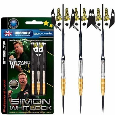Winmau Simon Whitlock Gold 2017 Darts-Set 24g