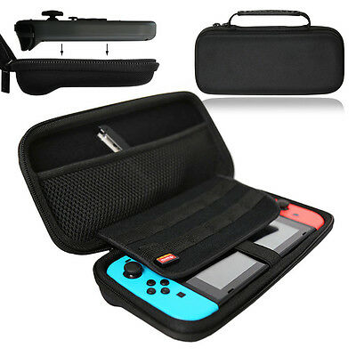 GUPi Durable Black Protective Carry Case Cover Pouch for Nintendo Switch Console