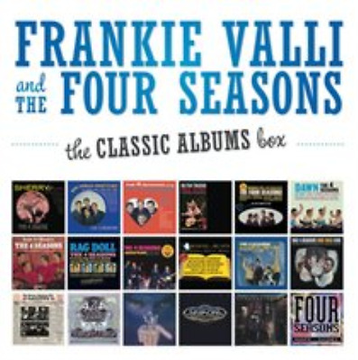 Frankie Valli and the Four ...-The Classic Albums Box  (UK IMPORT)  CD NEW