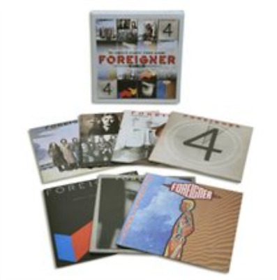 Foreigner-The Complete Atlantic Studio Albums 1977-1991  (UK IMPORT)  CD NEW