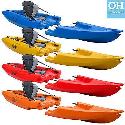 Point 65 Tequila! GTX Modular Kayak Single 2 Piece Canoe Sea River Multi Piece