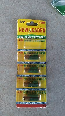 New Leaders 23a 12 volt battery lot of 4 new