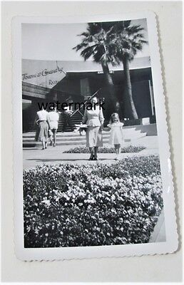 "Vintage Town & Country Palm Springs Ca  Photograph 3-1/2"" x 6-7/8"" photo"