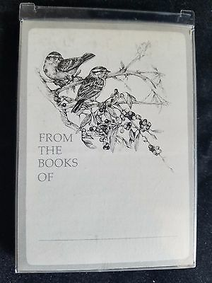 FROM THE BOOKS OF Book Plates Bookplates Box 30 Pressure Sensitive